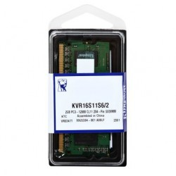 Kingston 2GB 204-Pin DDR3 SO-DIMM DDR3 1600 (PC3 12800)