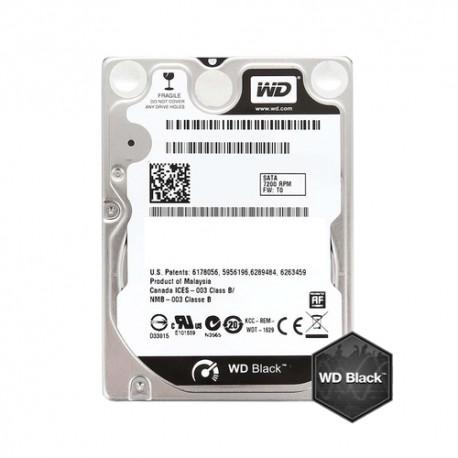 """HDD 750GB SATAIII 2.5"""" WD Black 7200rpm 16MB"""