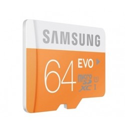 Samsung SD card EVO series, 64GB
